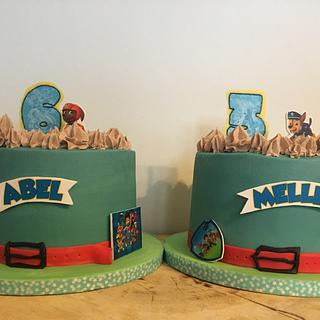Paw Patrol Birthday cakes - Cake by Bonnie's 🧡 Bakery