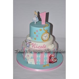 Alice in wonderland cake - Cake by Daria Albanese