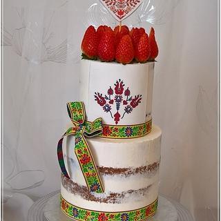 Folklor cake