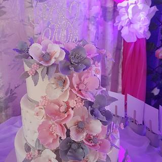 PINK DECEMBER WEDDING