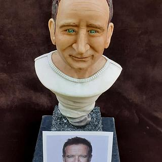 Robin Williams Bust