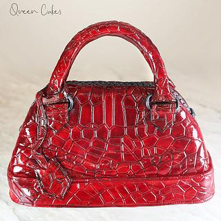 Fashionable  bag cake