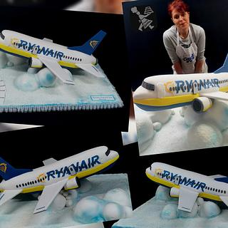 Cake Airplan  - Cake by Sunny Dream