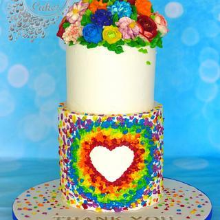 Buttercream NHS cake  - Cake by Beata Khoo