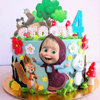 Masha  - Cake by TortIva