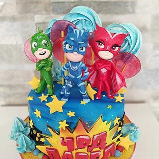 PJ masks - Cake by Tanya Shengarova