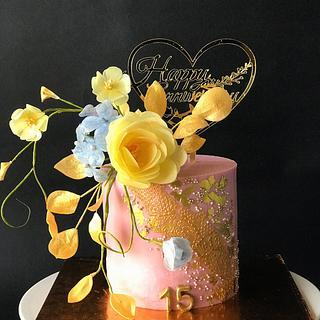 Anniversary cake  - Cake by Gungun Chanda