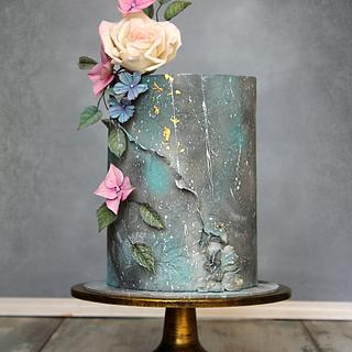 Cake for lady - Cake by Lorna