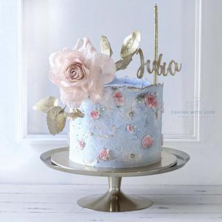 Simplicity is more - Cake by Caking with love