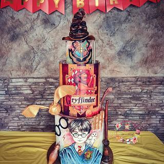Harry Potter cake - Cake by Rositsa Aleksieva