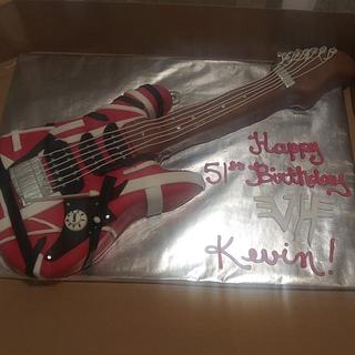 van halen guitar - Cake by WitchyCaker