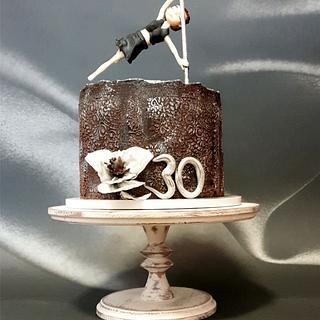 Pole dance cake:) - Cake by SojkineTorty