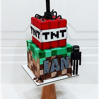 Minecraft explosive - Cake by Piu Dolce de Antonela Russo