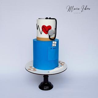 Doctor  - Cake by Maira Liboa
