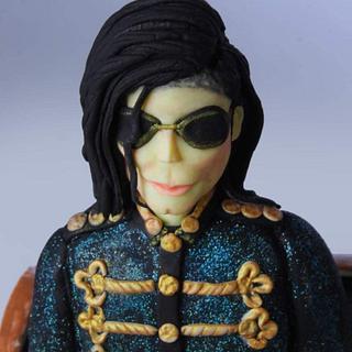 MJ-KING OF POP 👑 - Cake by thefrostgoddess