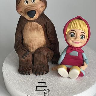 Masha and the bear - Cake by Mariana Frascella