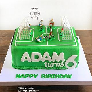 Football cake  - Cake by Fattoush