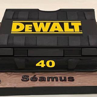 DeWalt Toolbox Cake - Cake by Margaret Lloyd