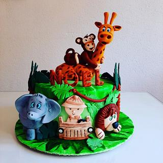 The ZOO  - Cake by Azra Cakes