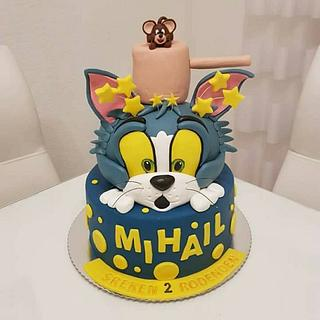 Tom and jerry  - Cake by Azra Cakes