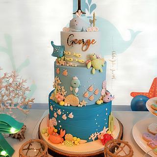 Underwater World cake