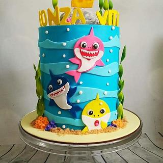 Baby Sharp  - Cake by Karicakes
