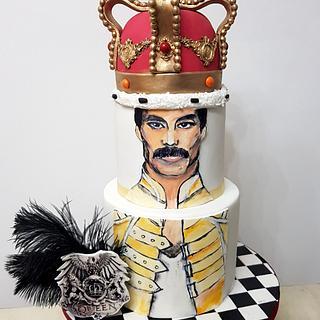 Freddie Mercury cake - Cake by Cake Addict