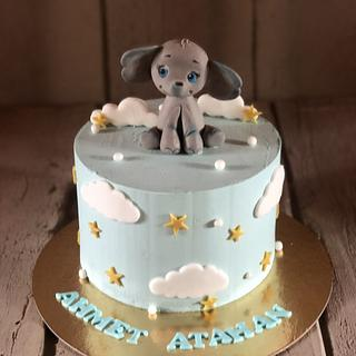 Baby boy cake - Cake by miracles_ensucre