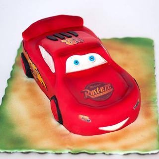 McQueen birthday Cake  - Cake by Kremena Boteva
