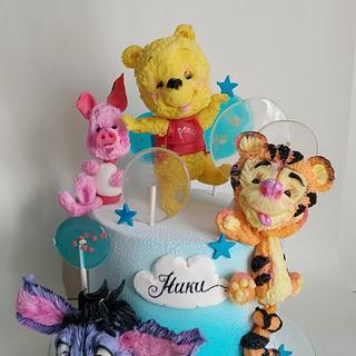 Winnie the Pooh  - Cake by Tanya Shengarova
