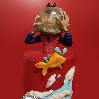 Fish bowl - Cake by manuela scala