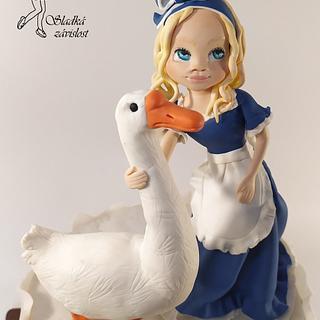 Goose girl - Cake by Sladká závislost