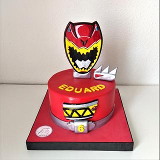 TARTA POWER RANGERS