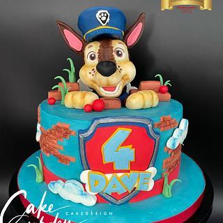 Chase Paw Patrol - Cake by Cake Garden