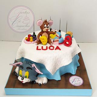 TARTA TOM Y JERRY - Cake by Camelia