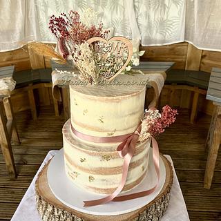 Wedding cake - Cake by Penny Sue