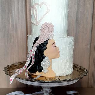 Slovak bride:) - Cake by SojkineTorty