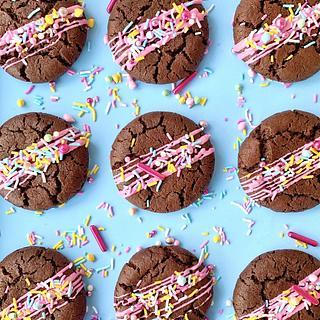 """Brownie Cookies recipe """"Crownies"""""""