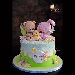 Sweet kids cake :) - Cake by Julie's Sweet Cakes