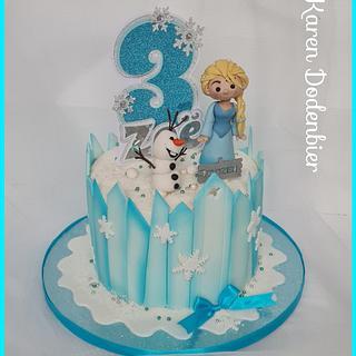 Frozen - Cake by Karen Dodenbier