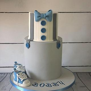 Little gentleman cake  - Cake by Maria-Louise Cakes