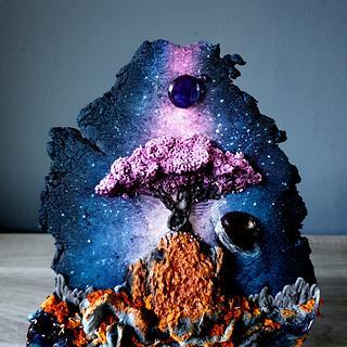 Space Tree - Cake by Radoslava Kirilova (Radiki's Cakes)