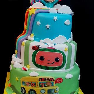 Cake Cocomelon - Cake by Sunny Dream