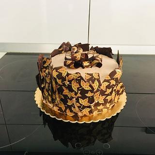 Chocotransfer cake