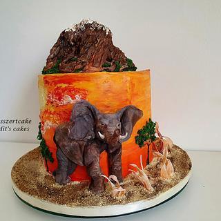 Elephant cake - Cake by Judit