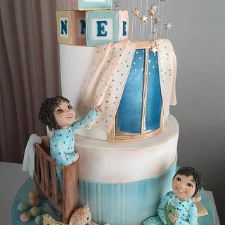 Twinkle little star - Cake by Couture cakes by Olga