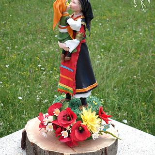 """Collaboration""""My Bulgaria"""". - Cake by Diana"""
