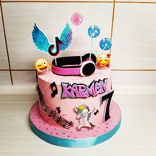 Tik tok cake - Cake by Tortalie