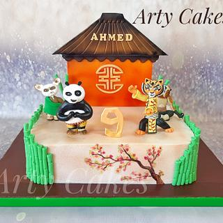 Kung fu panda cake  by Arty Cakes  - Cake by Arty cakes