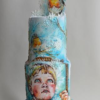 My Winter boy - Cake by Tanya Shengarova